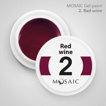 MOSAIC Gel-Paint 02 RED WINE