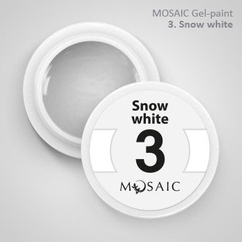 MOSAIC Gel-Paint 03 SNOW WHITE