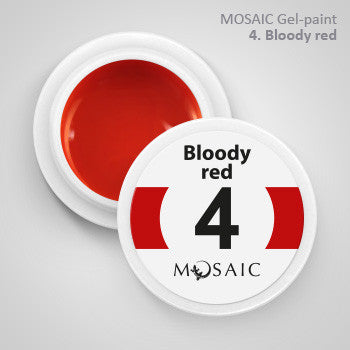 MOSAIC Gel-Paint 04 BLOODY RED