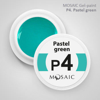 MOSAIC Gel-Paint P4 PASTEL GREEN