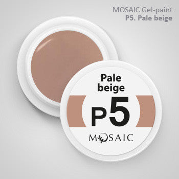MOSAIC Gel-Paint P5 PALE BEIGE