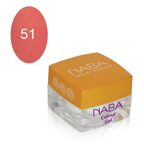NABA Colour Gel 51 PALE PINK