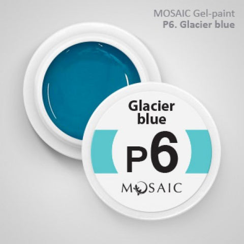 MOSAIC Gel-Paint P6 GLACIER BLUE