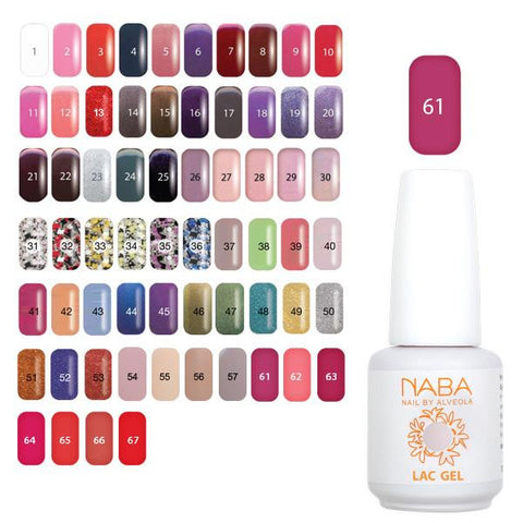 NABA Gel Lac 61 NEW YORK PINK