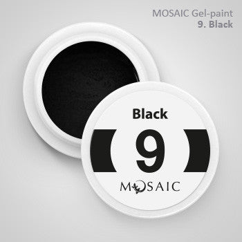 MOSAIC Gel-Paint 09 BLACK
