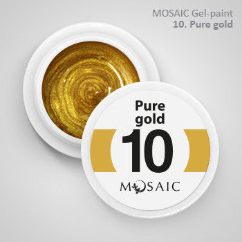 MOSAIC Gel-Paint 10 PURE GOLD