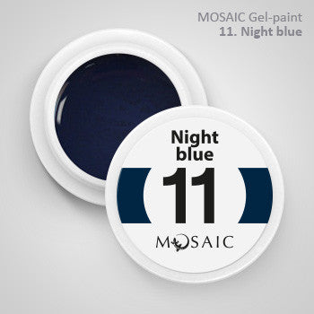 MOSAIC Gel-Paint 11 NIGHT BLUE