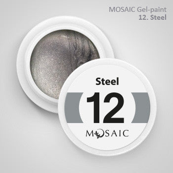 MOSAIC Gel-Paint 12 STEEL
