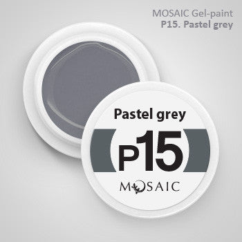 MOSAIC Gel-Paint P15 PASTEL GREY