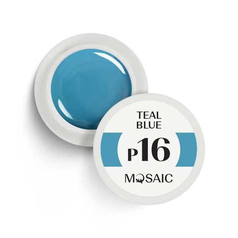 MOSAIC Gel-Paint P16 TEAL BLUE
