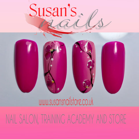 "Online Training Course ""Cherry Blossom"" Gel Painting"