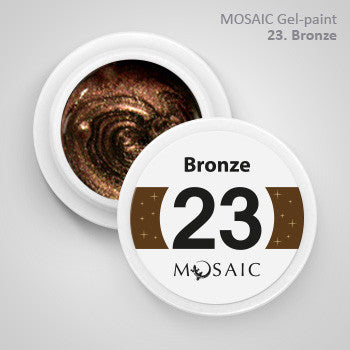 MOSAIC Gel-Paint 23 BRONZE