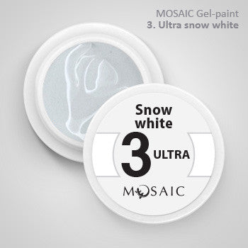 MOSAIC Gel-Paint 03 SNOW WHITE ULTRA