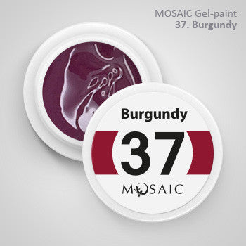 MOSAIC Gel-Paint 37 BURGUNDY