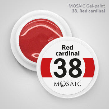 MOSAIC Gel-Paint 38 RED CARDINAL