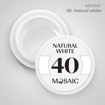 MOSAIC Gel-Paint 40 NATURAL WHITE