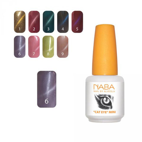 NABA Gel Lac Cat Eye 06 PURPLE