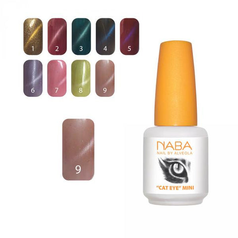 NABA Gel Lac Cat Eye 09 BROWN