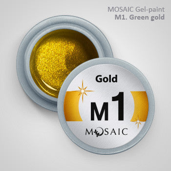 MOSAIC Gel-Paint M1 METALLIC GOLD