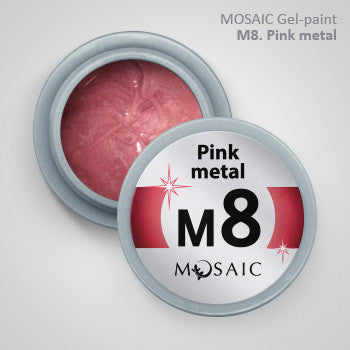 MOSAIC Gel-Paint M8 PINK METAL