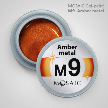 MOSAIC Gel-Paint M9 AMBER METAL
