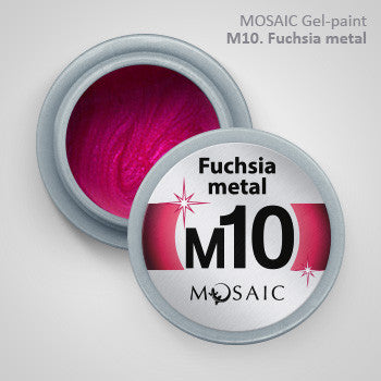 MOSAIC Gel-Paint M10 FUCHSIA METAL