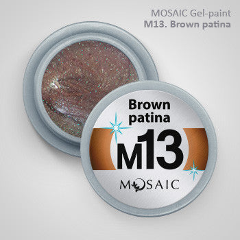 MOSAIC Gel-Paint M13 BROWN PATINA