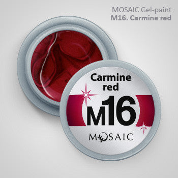 MOSAIC Gel-Paint M16 CARMINE RED