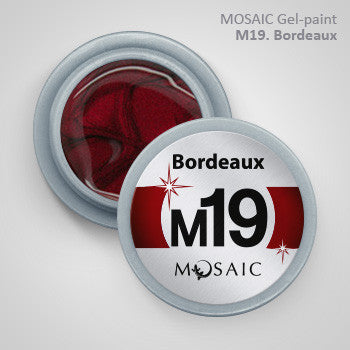MOSAIC Gel-Paint M19 BORDEAUX