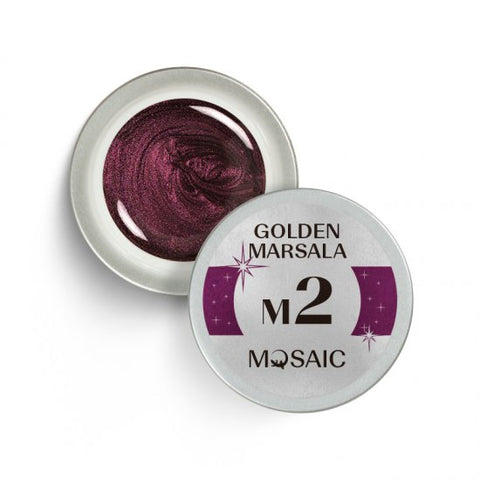 MOSAIC Gel-Paint M2 GOLDEN MARSALA