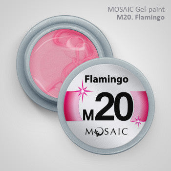 MOSAIC Gel-Paint M20 FLAMINGO