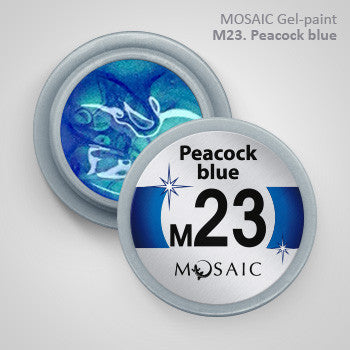 MOSAIC Gel-Paint M23 PEACOCK BLUE