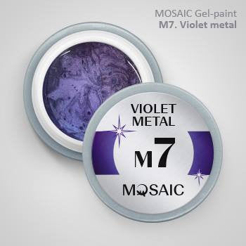 MOSAIC Gel-Paint M7 VIOLET METAL