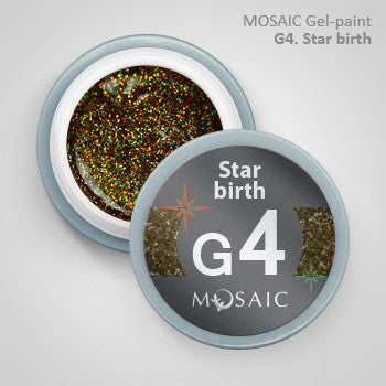 MOSAIC Gel-Paint G4 STAR BIRTH