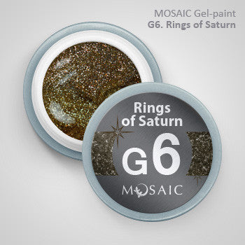 MOSAIC Gel-Paint G6 RINGS OF SATURN