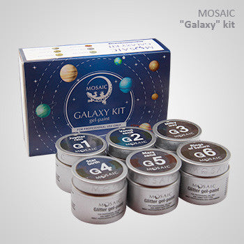 MOSAIC Gel-Paint GALAXY KIT