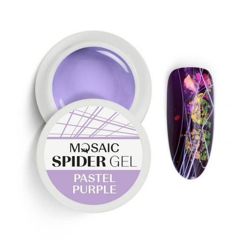 MOSAIC Spider Gel Pastel Purple
