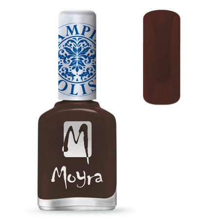 MOYRA Stamping Polish 13 DARK BROWN