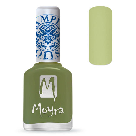 MOYRA Stamping Polish 15 LIGHT GREEN