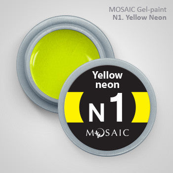 MOSAIC Gel-Paint N1 YELLOW NEON