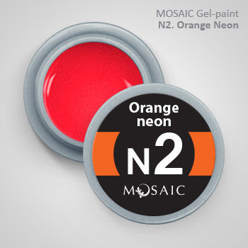 MOSAIC Gel-Paint N2 ORANGE NEON