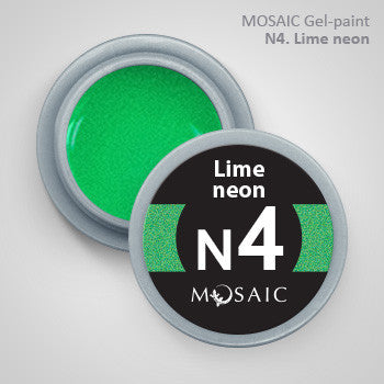 MOSAIC Gel-Paint N4 LIME NEON