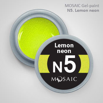 MOSAIC Gel-Paint N5 LEMON NEON