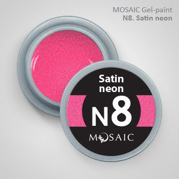 MOSAIC Gel-Paint N8 SATIN NEON