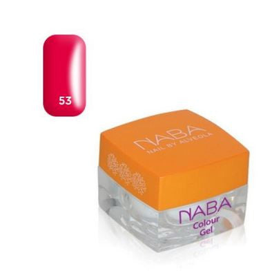 NABA Colour Gel 53 PEONY RED NEON