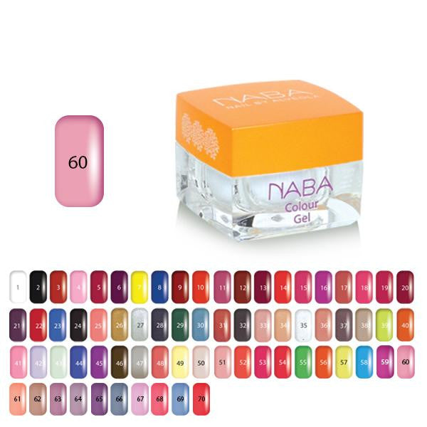 NABA Colour Gel 60 BLOOMING PINK