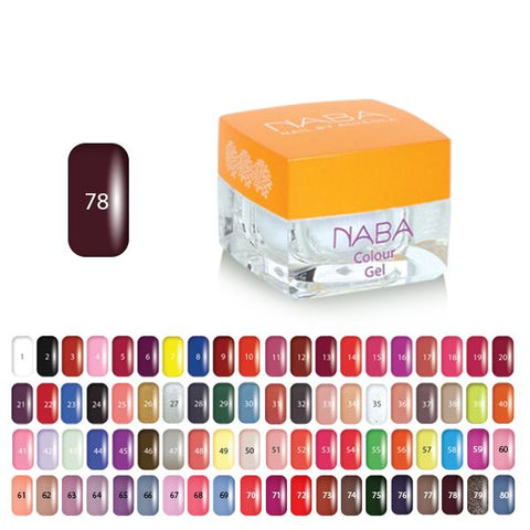 NABA Colour Gel 78 BURGUNDY
