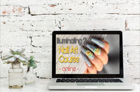 Illuminating 21 Nail Art Course - online -