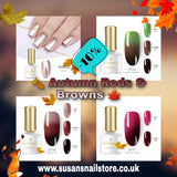 BORN PRETTY Autum Reds & Browns Collection 2020