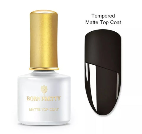 BORN PRETTY Tempered Matt Top Coat